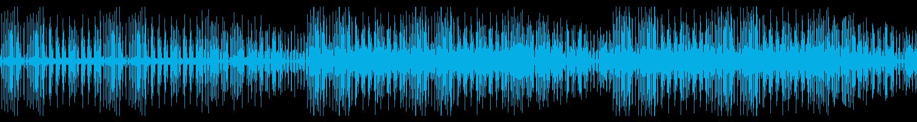 【ループ版】YouTube コミカルの再生済みの波形