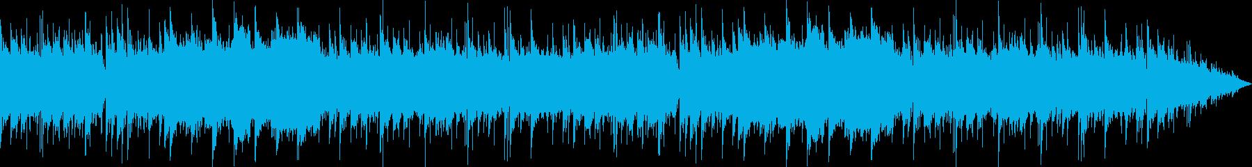琴のメロディーが美しい和風サウンドの再生済みの波形