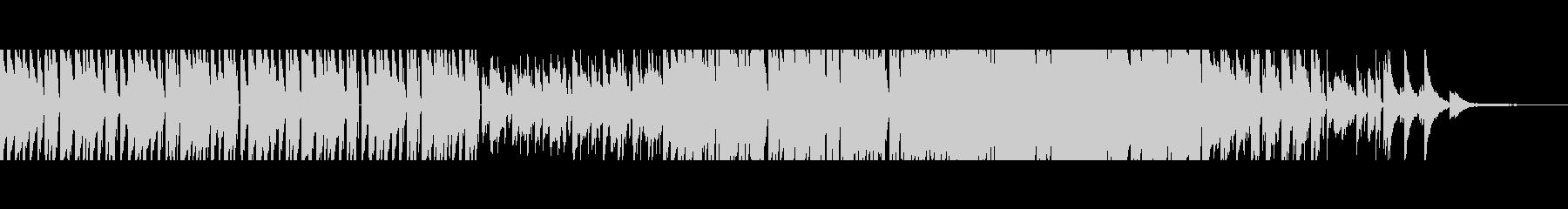 【短Ver3】80年代風洋楽ポップロックの未再生の波形