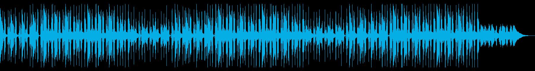 オシャレでリラックスしたチルタイムの再生済みの波形