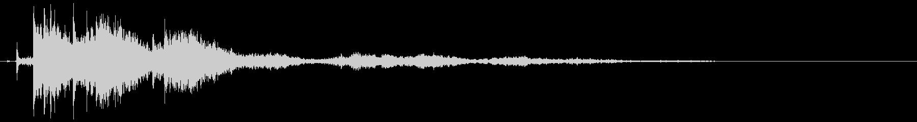【シネマティック】 ベル音_10の未再生の波形