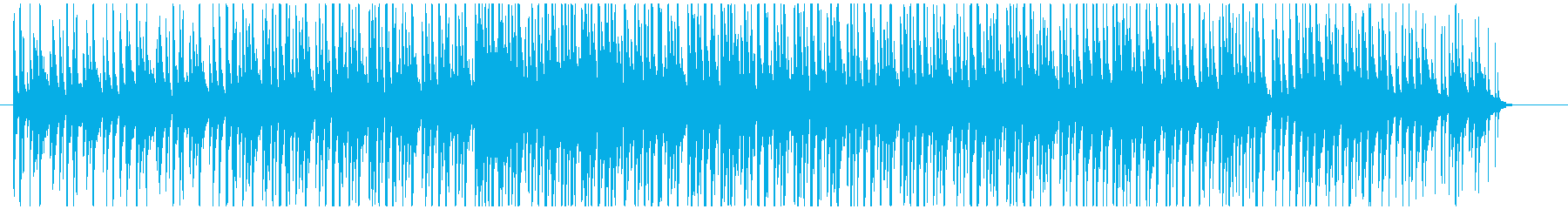 カリンバとジャンベのセッションの再生済みの波形