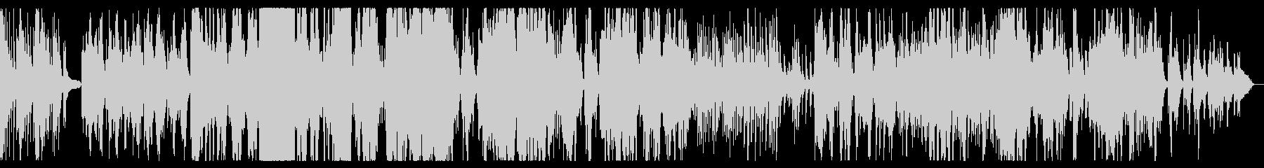 二胡とピアノの生録音によるのどかな楽曲の未再生の波形