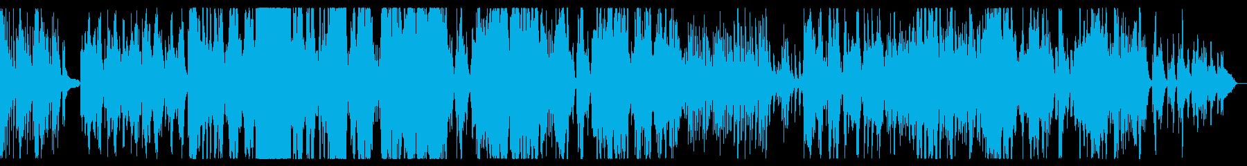 二胡とピアノの生録音によるのどかな楽曲の再生済みの波形