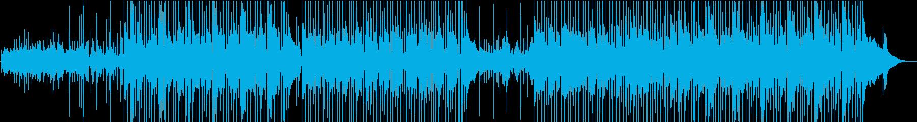 のんびりウクレレのハワイアン楽曲 の再生済みの波形