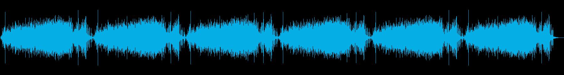 素材 レインスティックシーケンス01の再生済みの波形