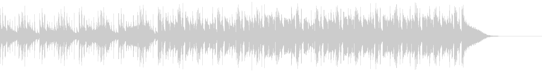 Pf「軽率」和風現代ジャズの未再生の波形
