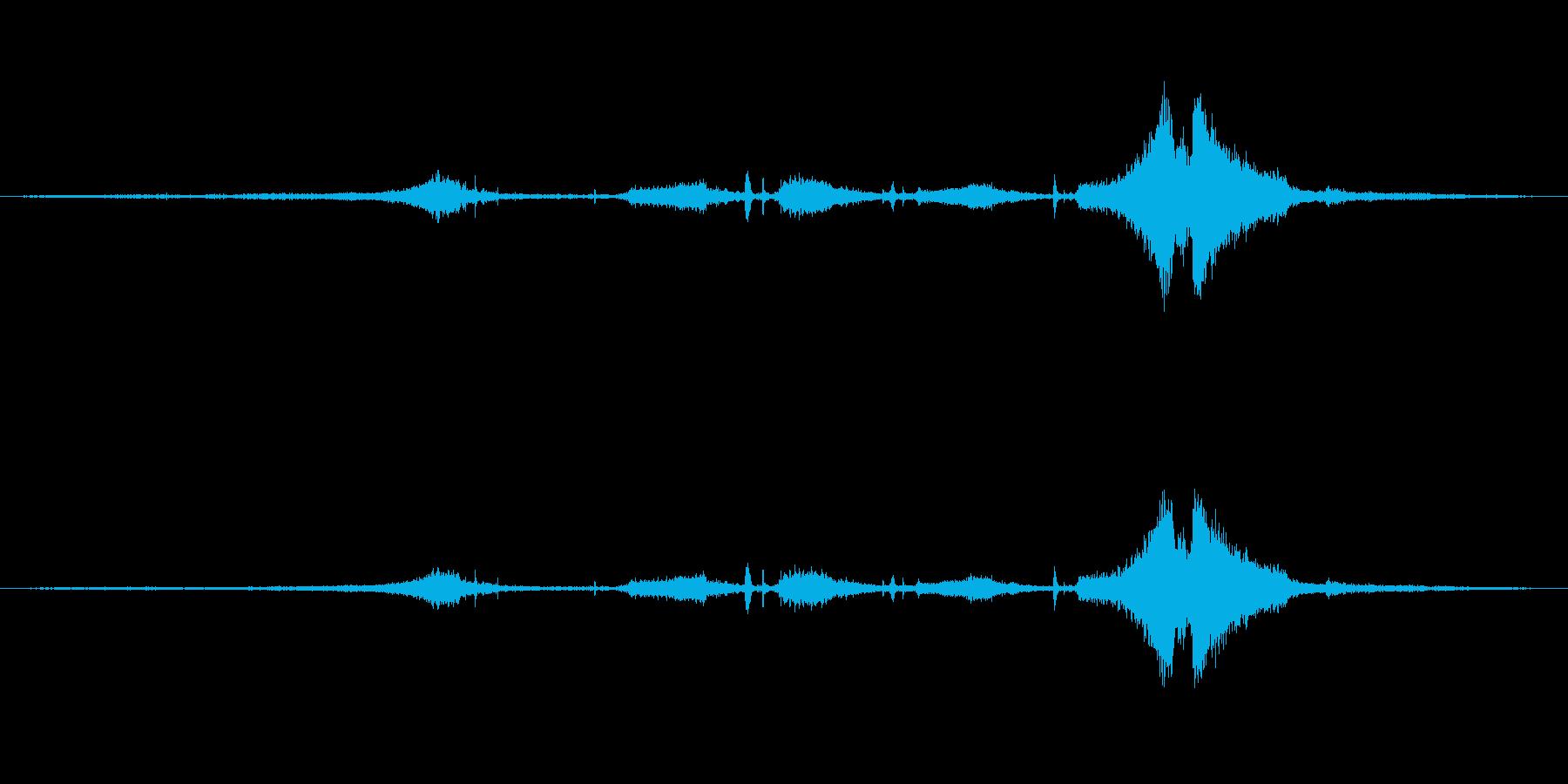 EXT:プルアップアンドバイ、スト...の再生済みの波形