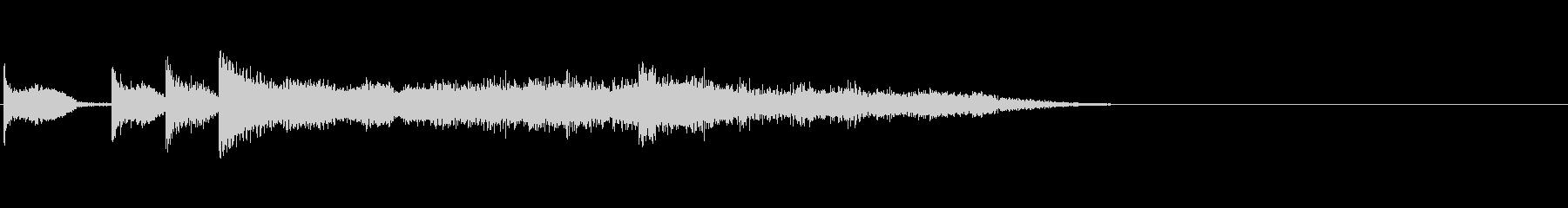 KANTファンファーレ歓声2006071の未再生の波形