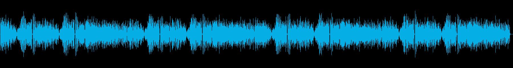古いフィルム映画やラジオ風のラグタイム1の再生済みの波形