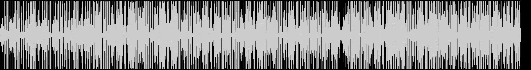 南国調アフロビート トロピカルハウスの未再生の波形