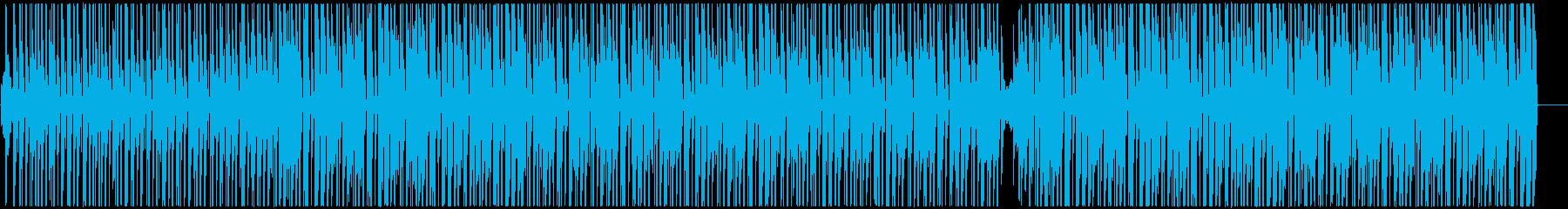 南国調アフロビート トロピカルハウスの再生済みの波形