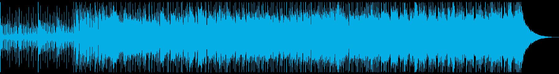 エモいオルタナ系ギターバラードの再生済みの波形