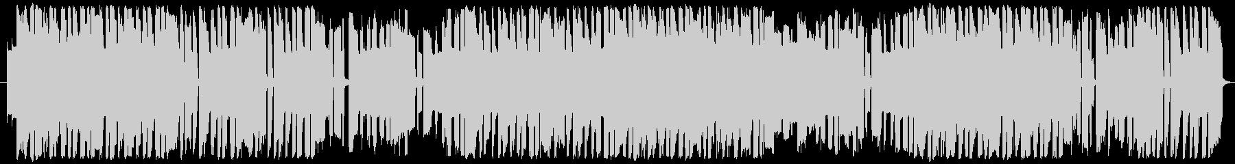 8bit風ピコピコサウンドの未再生の波形