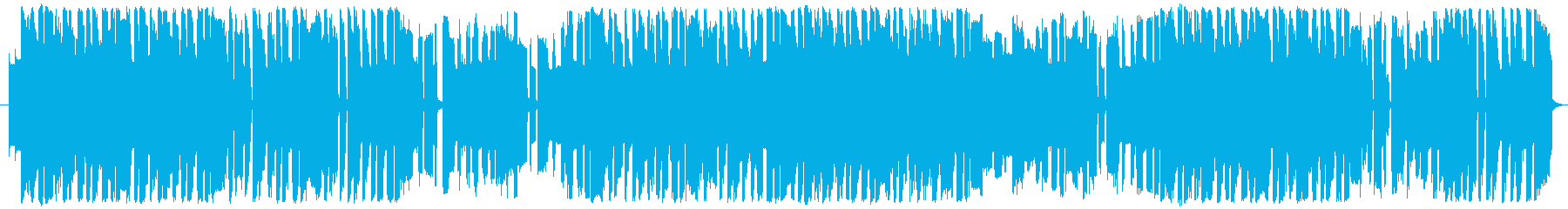 8bit風ピコピコサウンドの再生済みの波形