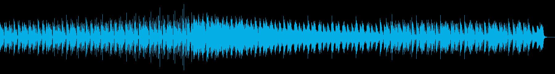 テクノ アップテンポ目のビートの再生済みの波形