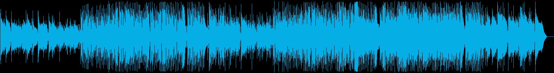ほのぼのとした卒園ソングの再生済みの波形