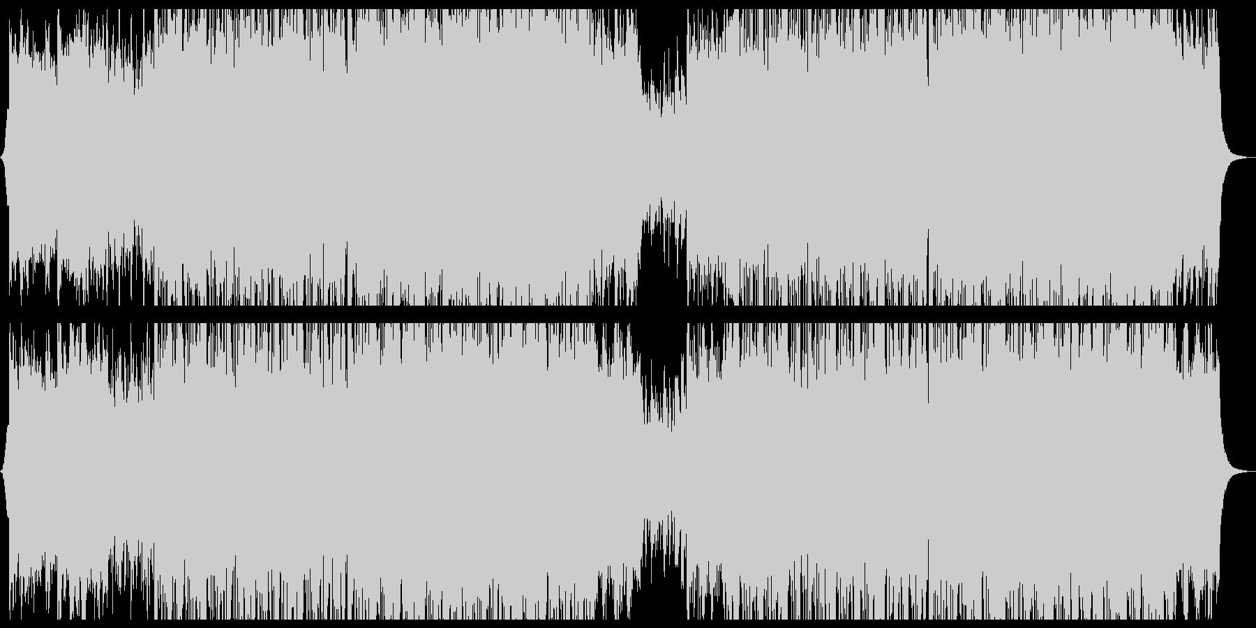 穏やか切ないミニマルエレクトロニカ。の未再生の波形