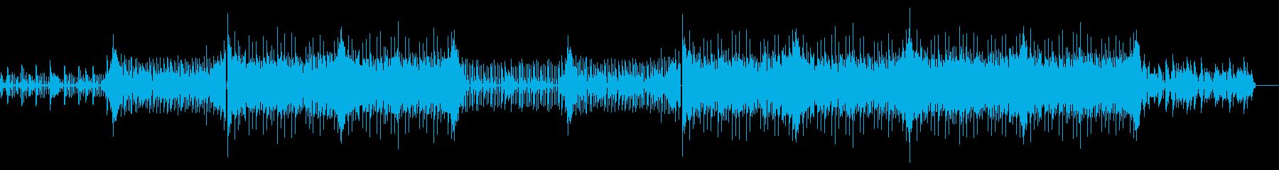 おしゃれでクールなCM企業・動画用BGMの再生済みの波形