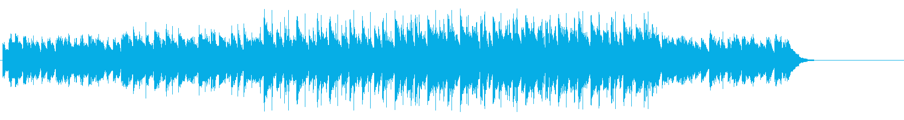 怪しげなマイナーエレクトリックポップスの再生済みの波形