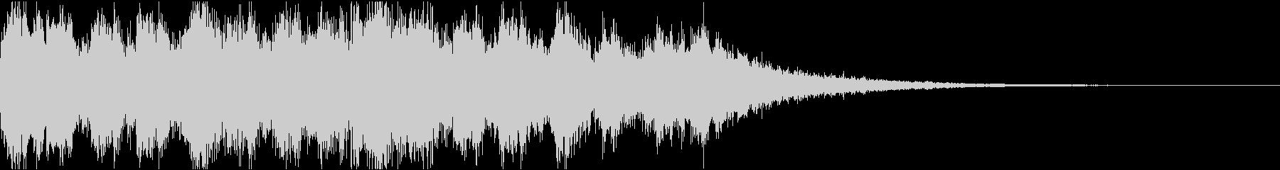 リラックスチルアウトトロピカルジングルの未再生の波形