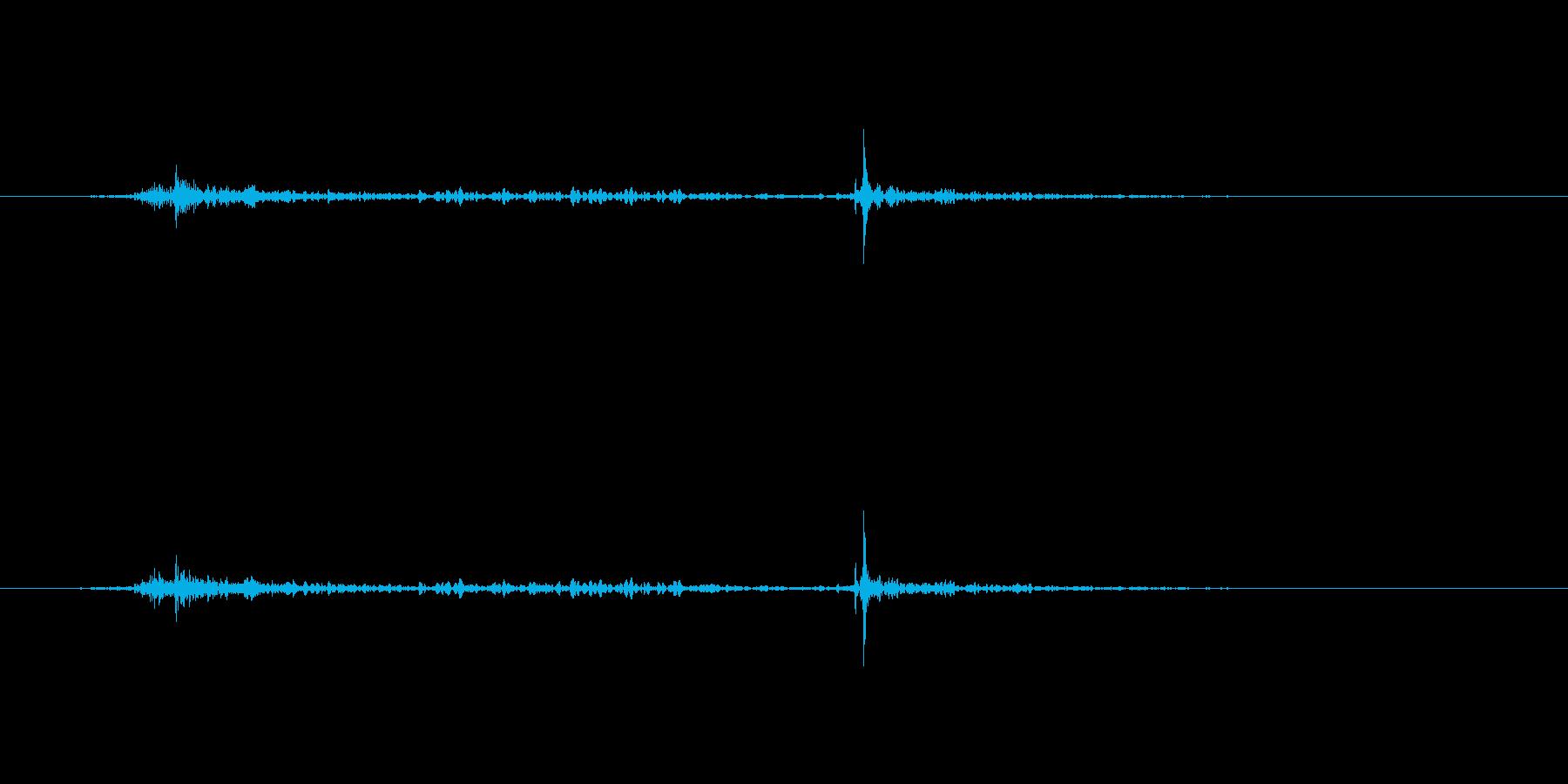 ガチャの再生済みの波形