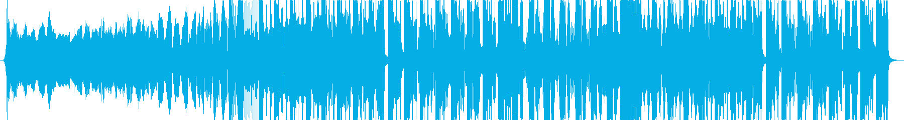 cyberpunk サイバーパンクの再生済みの波形