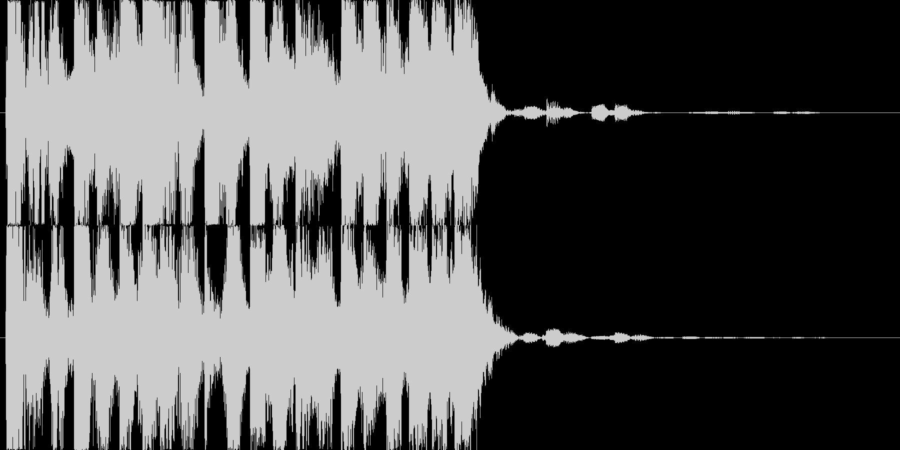 パチスロ遊戯台などのチャンス音の未再生の波形