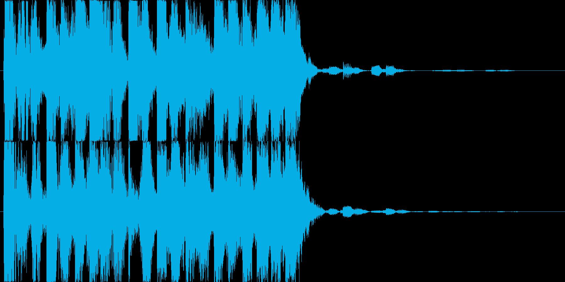 パチスロ遊戯台などのチャンス音の再生済みの波形