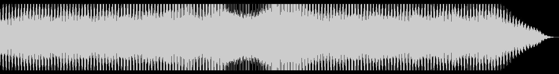 スペースドローン:回転する重低音の未再生の波形