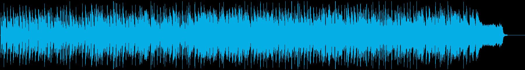 陽気な子供が走っていくようなリコーダー曲の再生済みの波形