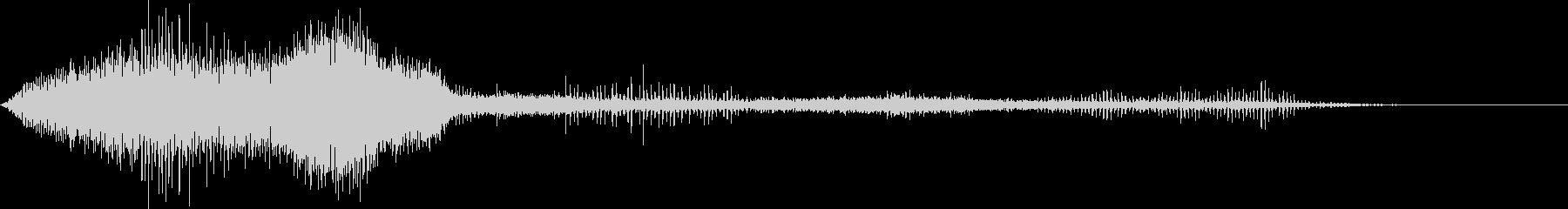 アパッチヘリコプターパスオーバーヘ...の未再生の波形