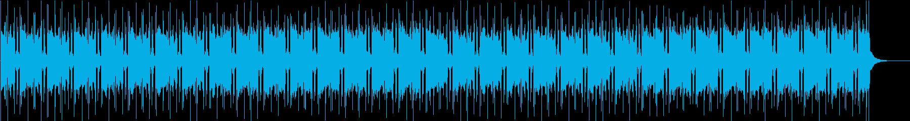 「ちょっとだけよ」風な色っぽいBGMの再生済みの波形