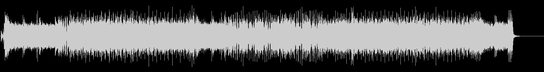 熱いギターロックBGM3の未再生の波形