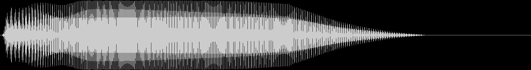 Game 横スクロール系ゲーム 効果音2の未再生の波形