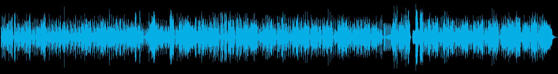 フランスのマヌーシュ・ジャズのイメージの再生済みの波形
