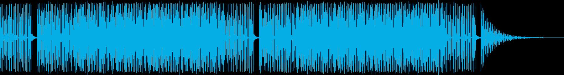 都会の夜・ネオン・星空・エレクトロニカの再生済みの波形