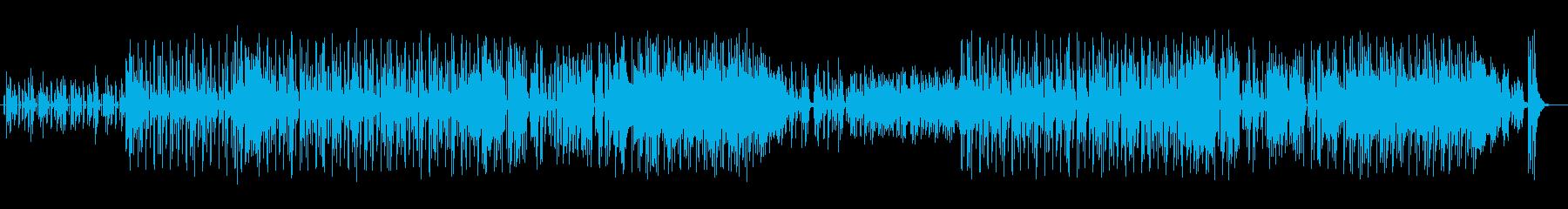 コミカルで可愛らしい鉄琴と口笛メインの曲の再生済みの波形