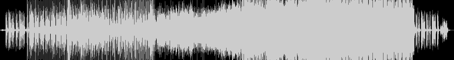 collageの未再生の波形