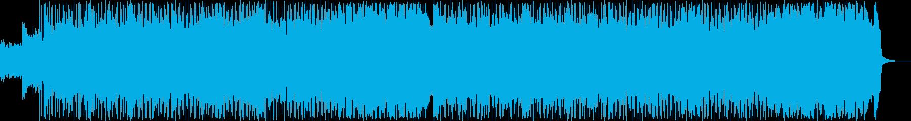 真っ直ぐで元気なポップなパンクロックの再生済みの波形