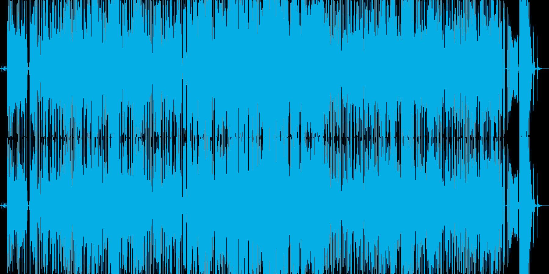 我が家の愛犬「ハナ」の曲の再生済みの波形