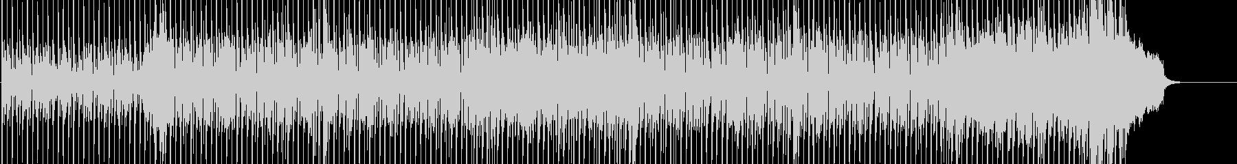 ギターカッティングの未再生の波形
