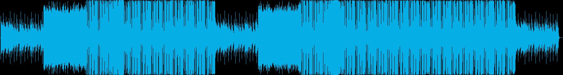 可愛い・楽しい・近未来 EDMの再生済みの波形