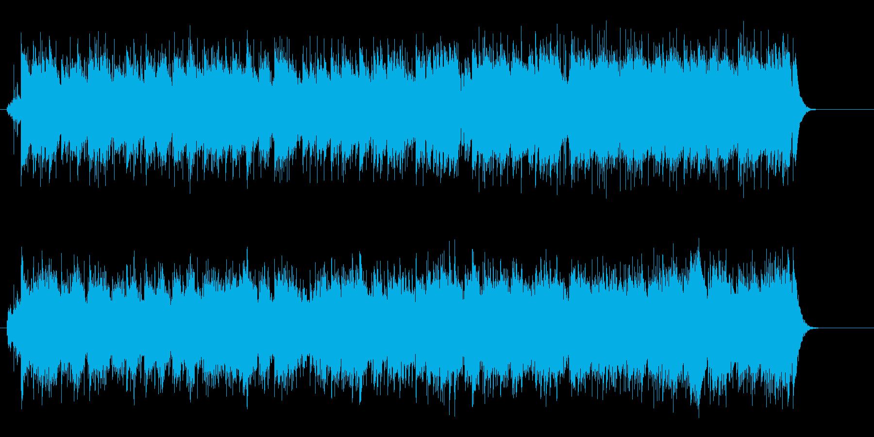 澄み切った青空のニュー・ミュージックの再生済みの波形