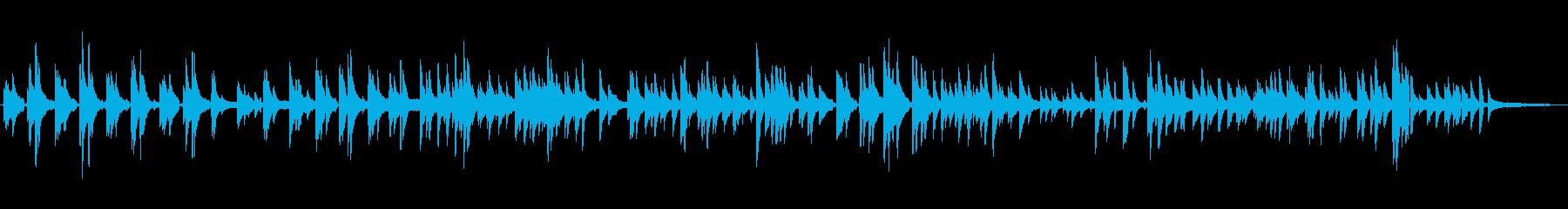 青空珈琲・生ピアノソロの再生済みの波形