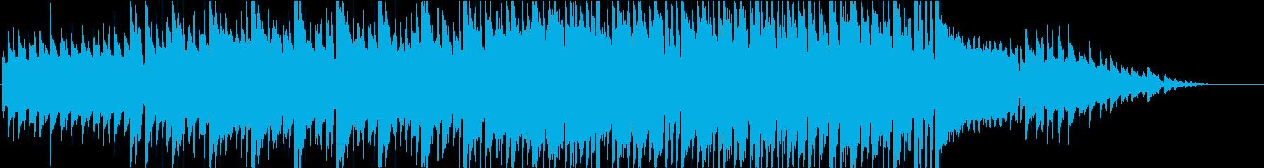 ほのぼのした日常にあいそうな曲の再生済みの波形