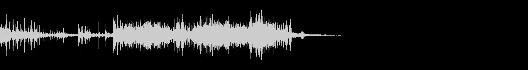 スパーク音-17の未再生の波形