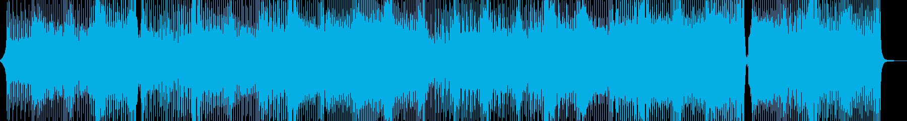 軽やかに、出かけたくなるテクノポップ Aの再生済みの波形