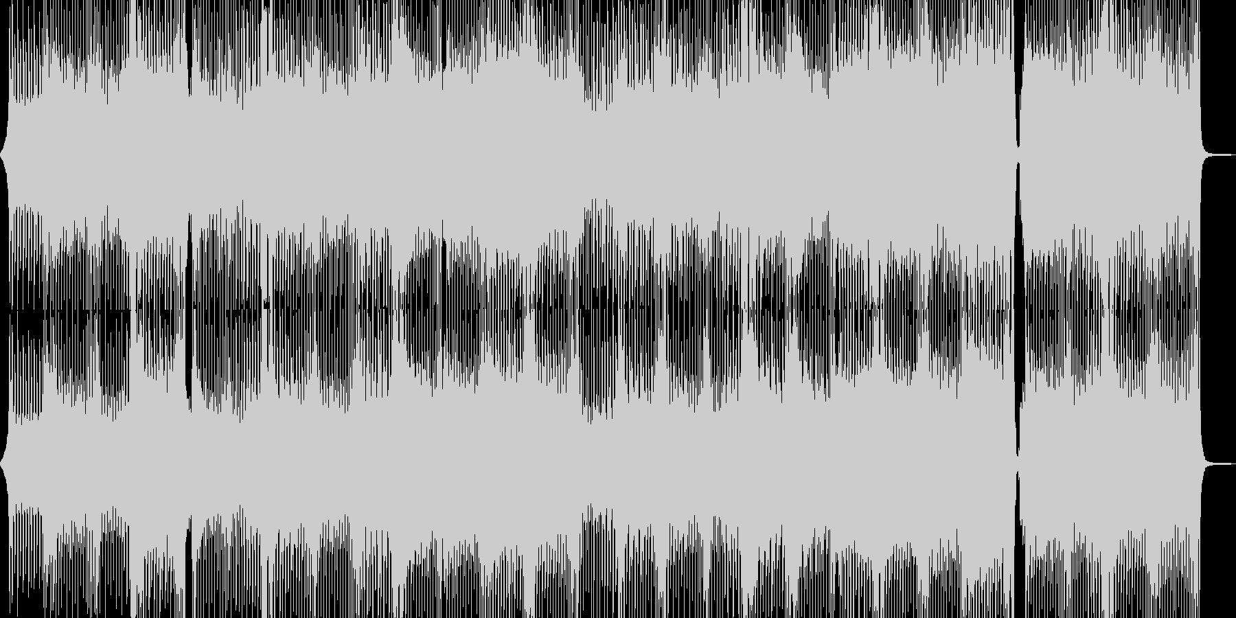 爽やかで出かけたくなるテクノポップ Aの未再生の波形
