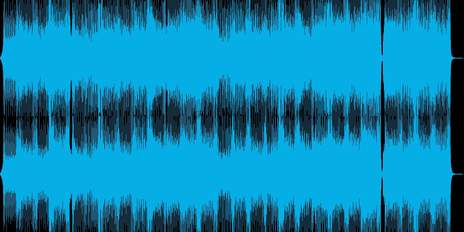 爽やかで出かけたくなるテクノポップ Aの再生済みの波形